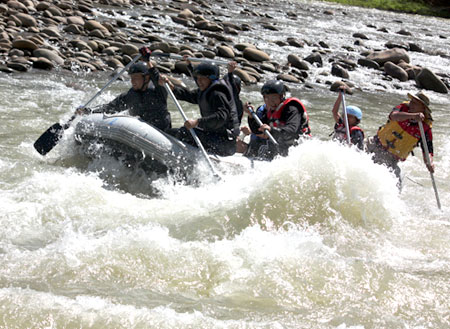 Kiulu River White Water Rafting (Grade I to II)