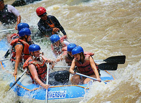 Padas River Rafting (Grade III to IV)