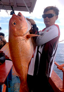 5D4N Miri Deep Sea Fishing Trip