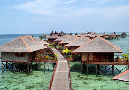 3D2N  MABUL ISLAND - SIPADAN WATER VILLAGE RESORT